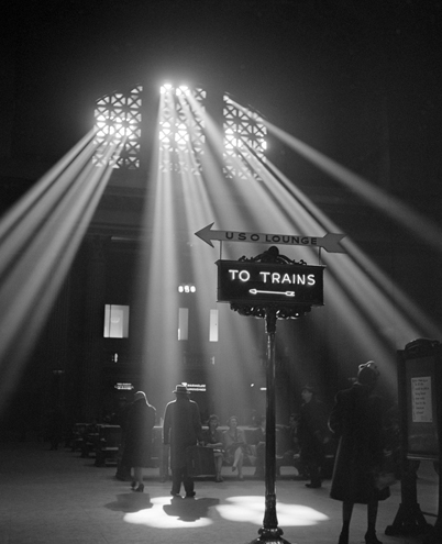 Вокзал Union Station, Chicago 1943